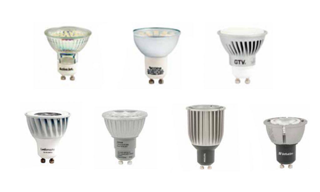 Niezależne badania lamp LED z trzonkiem GU 10
