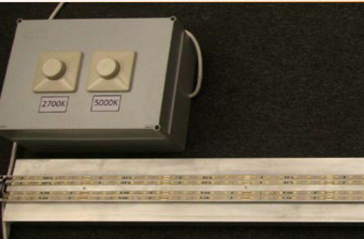 Model oprawy oświetlenia pośredniego LED