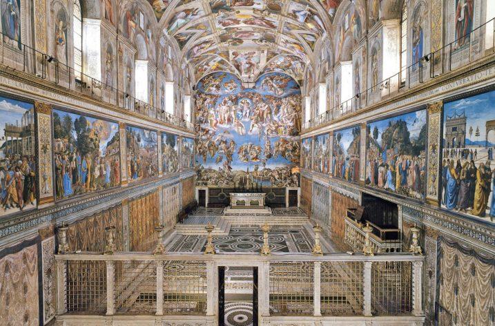 7 tys. źródeł LED rozświetla Kaplicę Sykstyńską