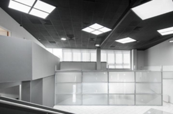Ledowy showroom w Krakowie