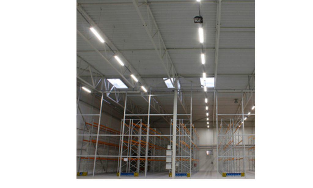 Nowoczesna instalacja LED zespolona z fotowoltaiką