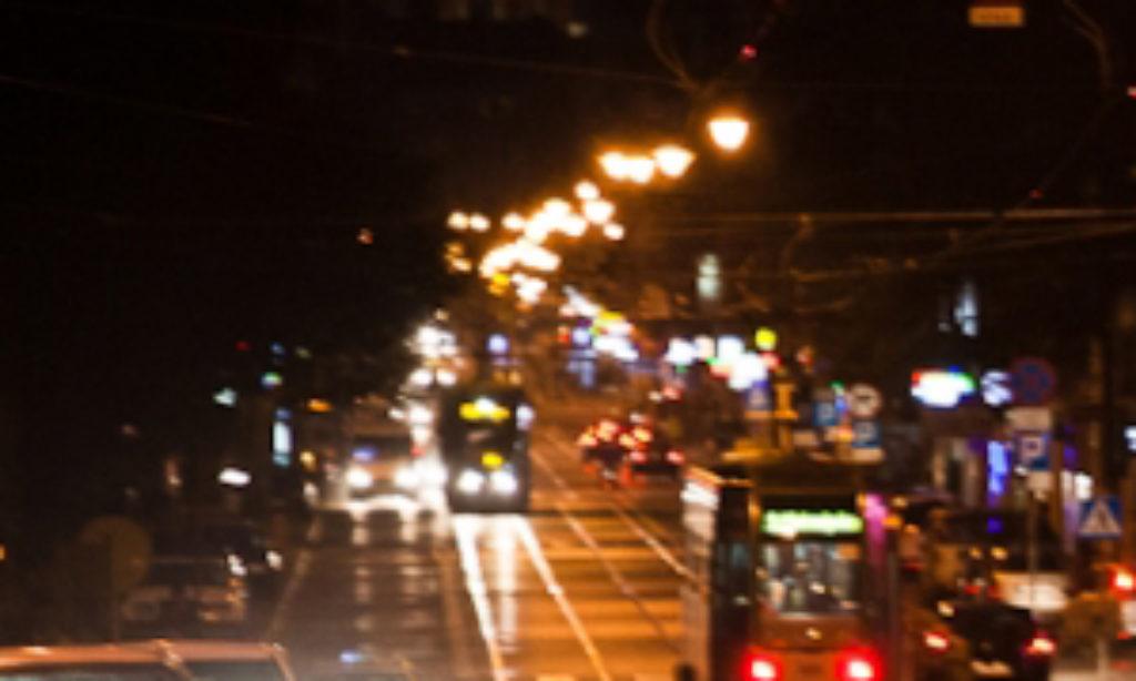 Montaż drogowych opraw LED w Krakowie
