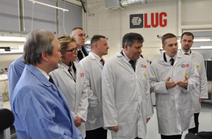 Janusz Piechociński z wizytą w firmie LUG