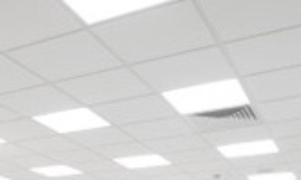 Antyodblaskowe panele sufitowe LED