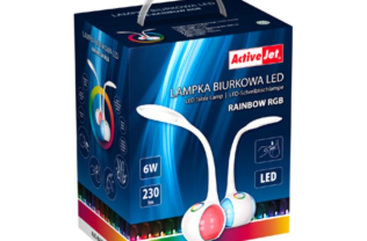 Lampka biurkowa ze sterowaniem RGB