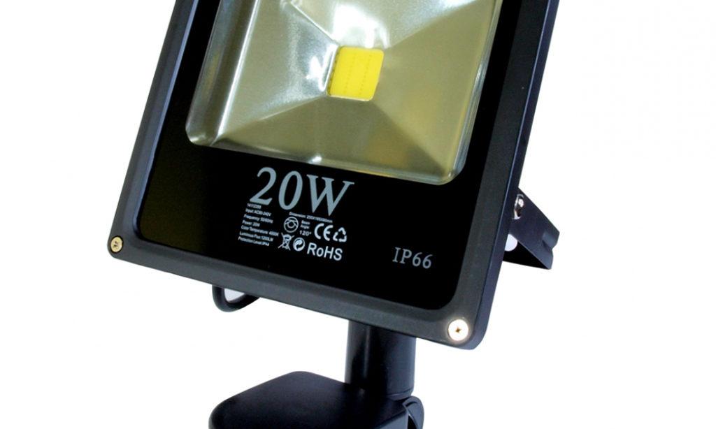 Lampy zewnętrzne LED