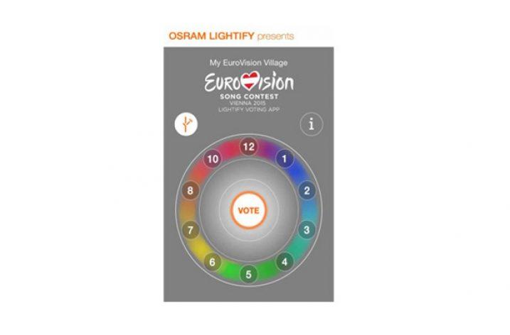 Lightify na Eurowizji