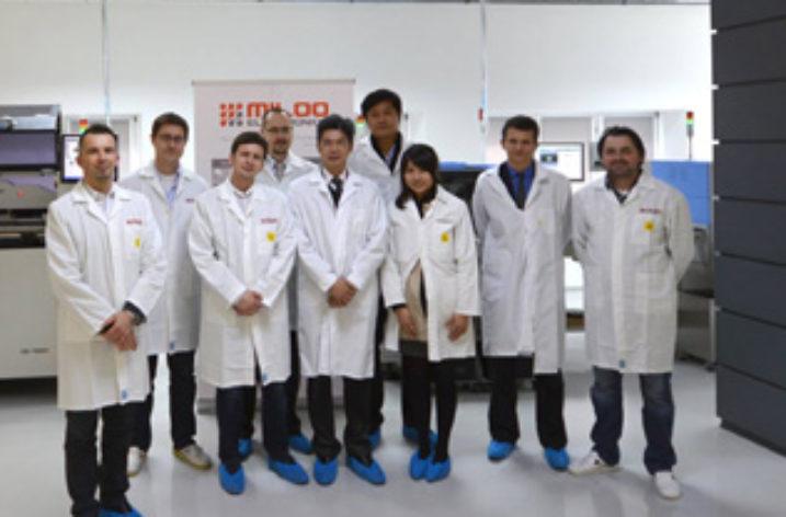 Delegacja Edison Opto z wizytą w Miloo-Electronics