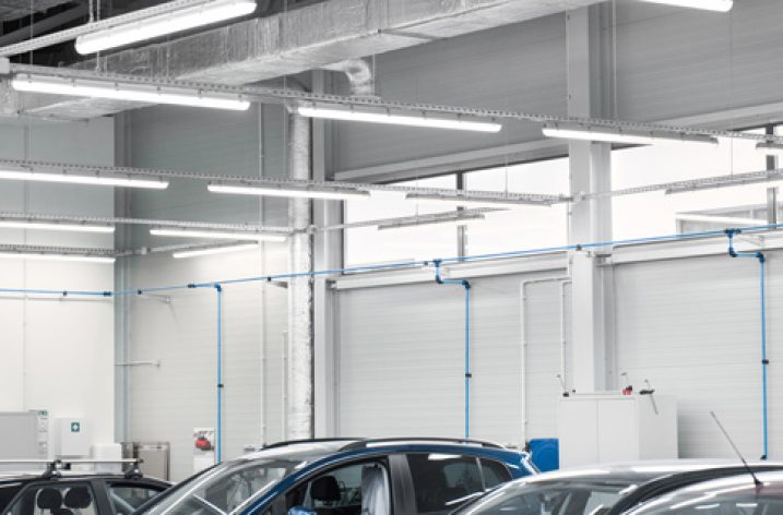 LED-y w serwisie i lakierni Volkswagena