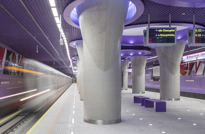 LUG oświetlił warszawskie metro