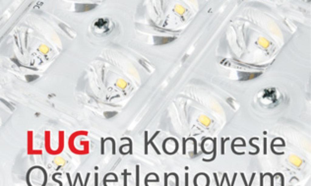LUG na Kongresie Oświetleniowym LED Polska 2015