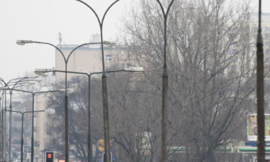 Modernizacja oświetlenia na warszawskiej Pradze