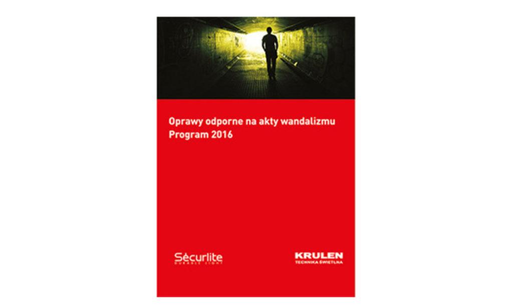 Nowy katalog opraw SECURLITE