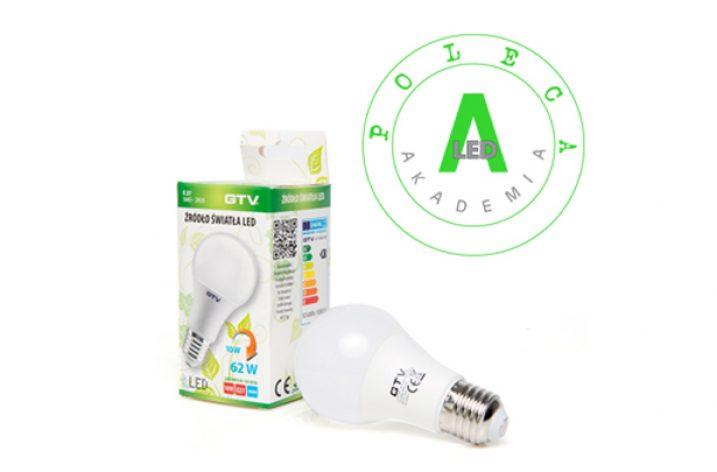 Sprawdzona lampa LED. LD-PC3A60-10W. GTV