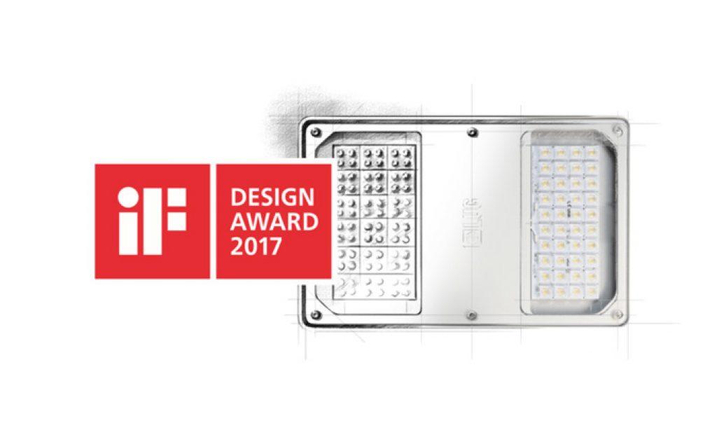 iF DESIGN AWARD 2017 dla oprawy LUG