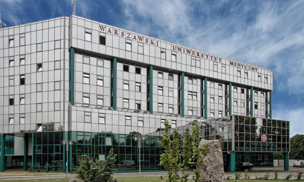 Wymiana oświetlenia na Warszawskim Uniwersytecie Medycznym