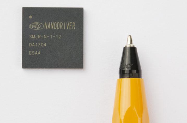 Najmniejsze na świecie sterowniki LED
