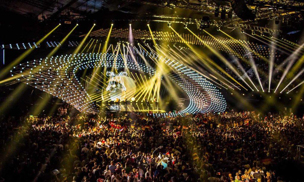 Oficjalny partner oświetleniowy Eurowizji
