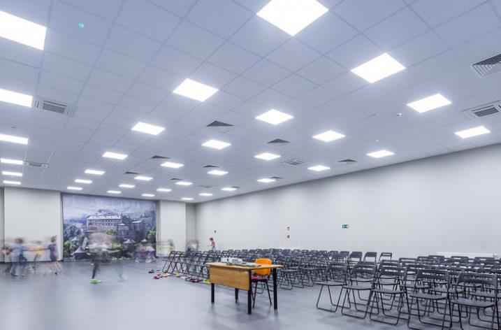 Modernizacja oświetlenia w szkole