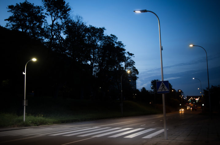 Oświetlenie przejść dla pieszych