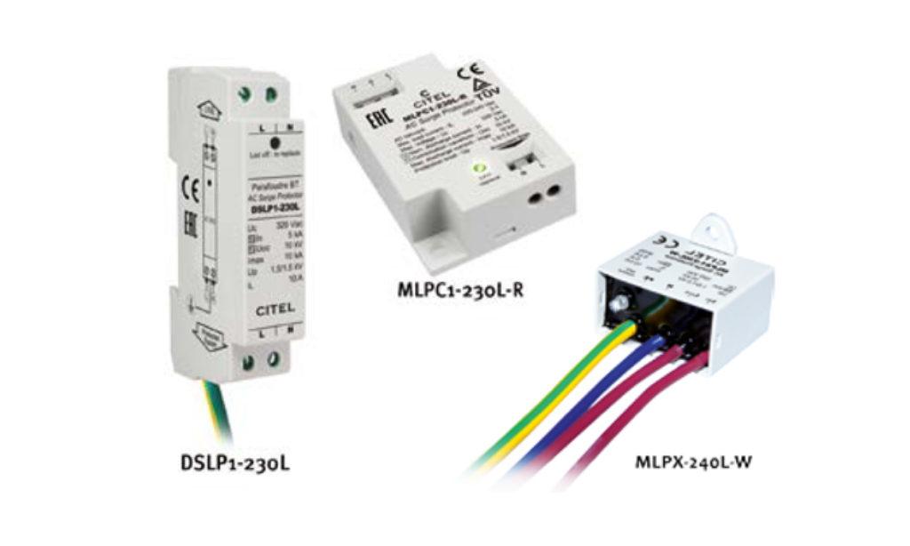 Ograniczniki przepięć do zabezpieczania zasilania latarni z oświetleniem LED