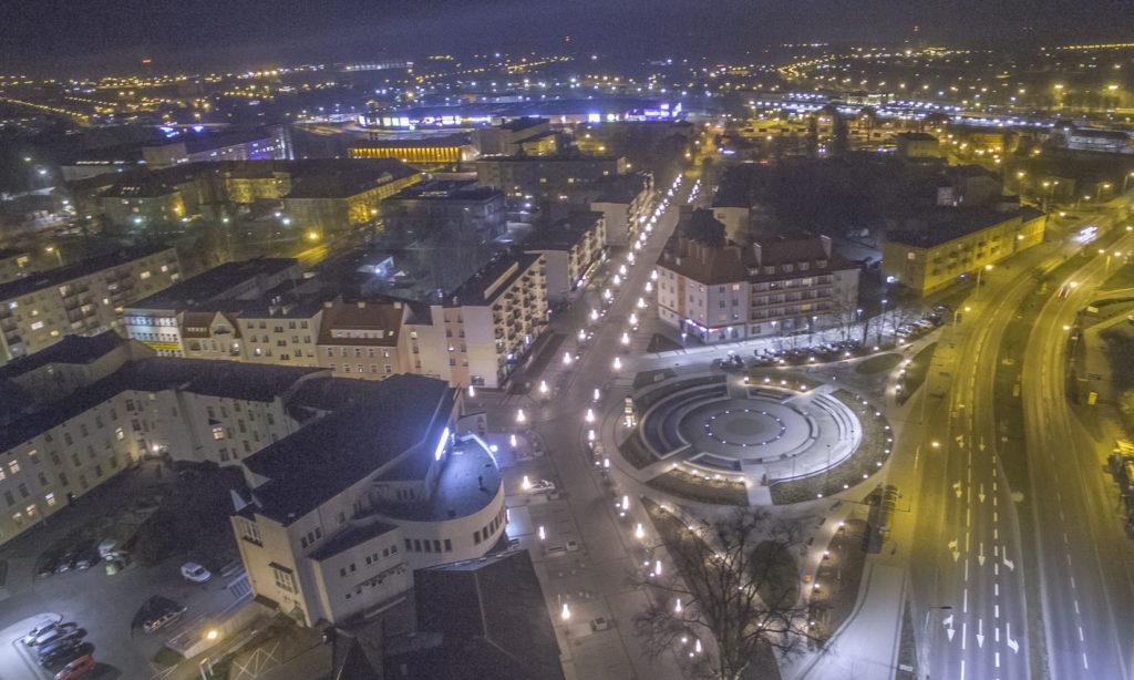 Oświetlenie LED za unijną dotację