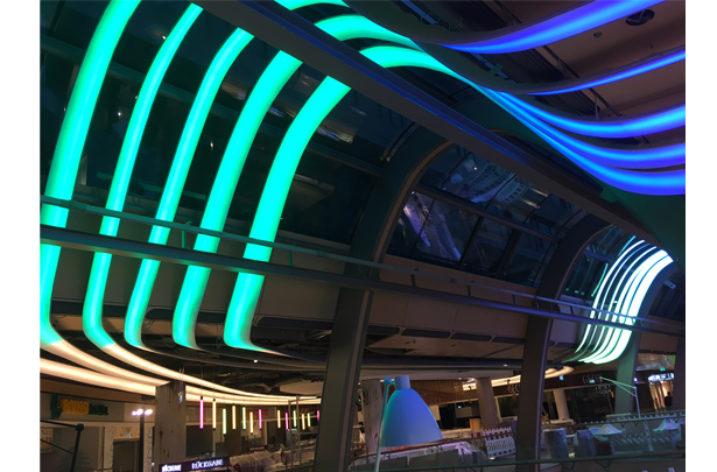 Najwyższa jakość oświetlenia LED w galeriach handlowych