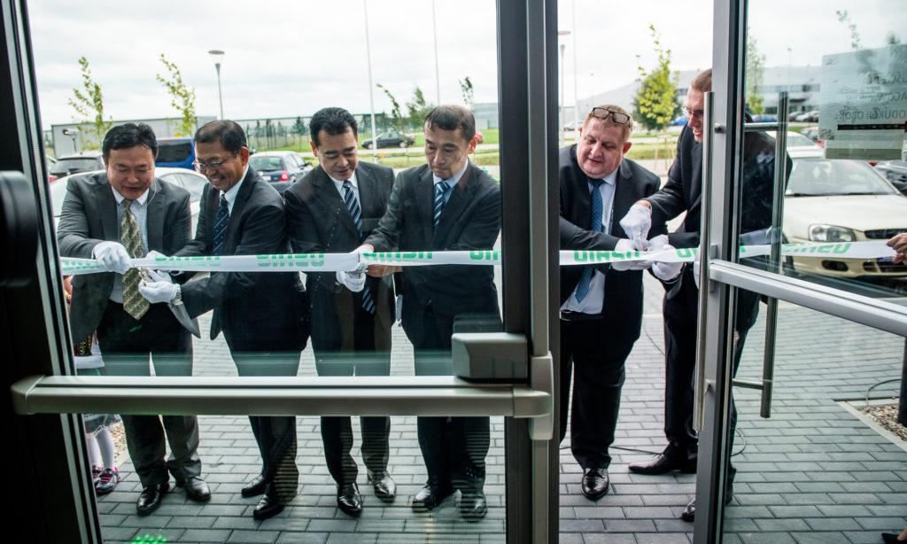 Otwarcie nowej fabryki USHIO w Polsce