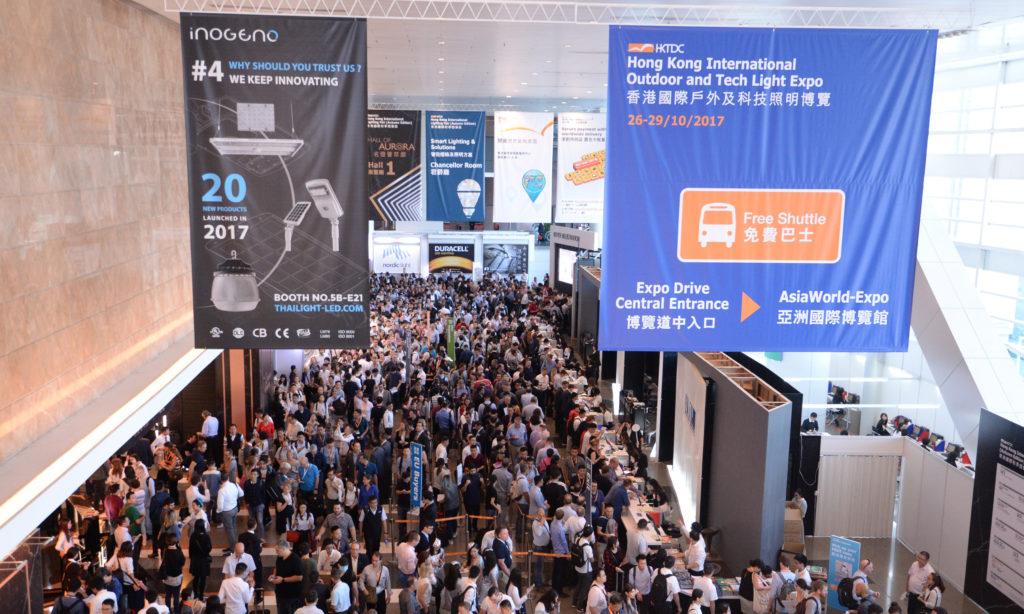 Jesienne Międzynarodowe Targi Oświetleniowe w Hongkongu