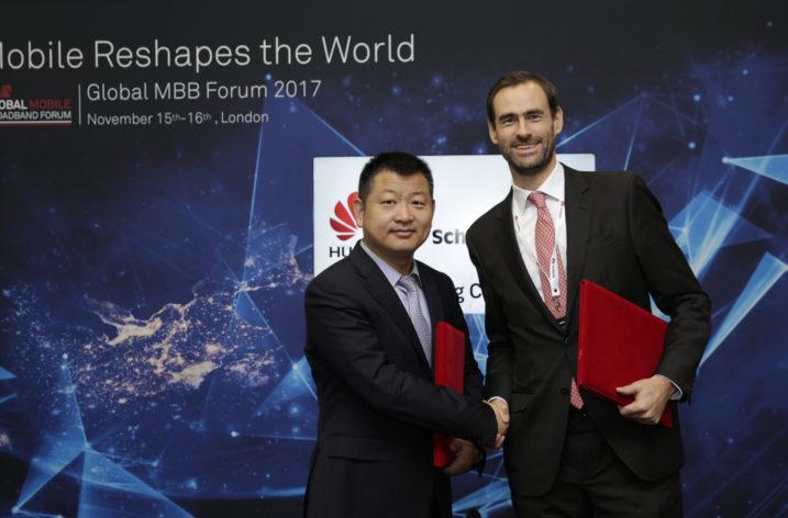Strategiczna współpraca firm Schréder i Huawei
