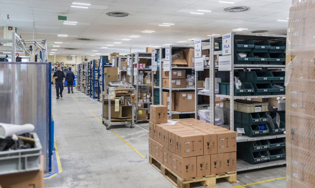 Nowy wygląd fabryki SEKO dzięki oświetleniu GEWISS