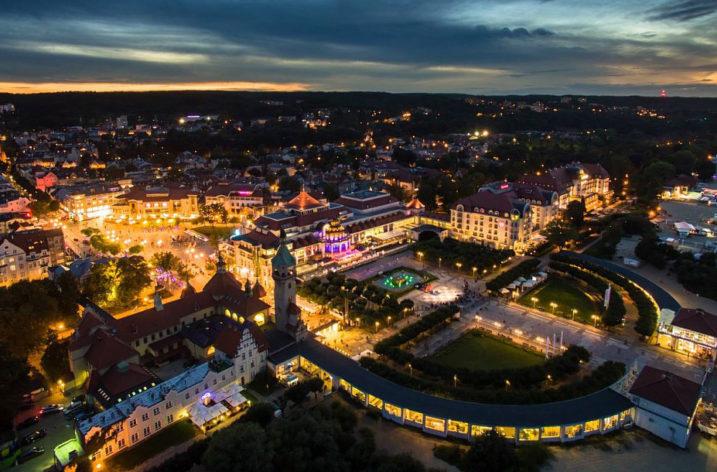 Inteligentne oświetlenie w Sopocie