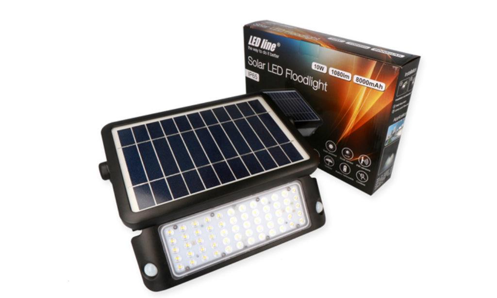 Naświetlacz solarny