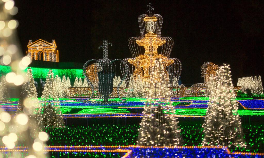 Królewski Ogród Światła z nową ekspozycją