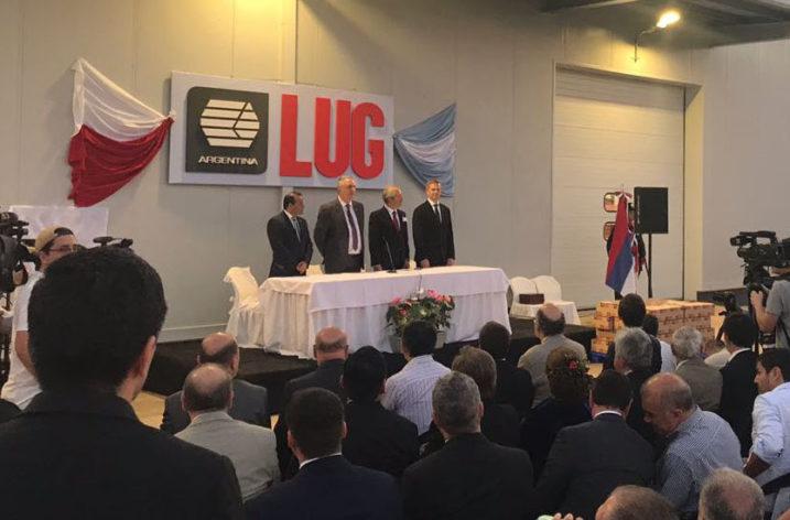 Fabryka LUG w Argentynie oficjalnie otwarta