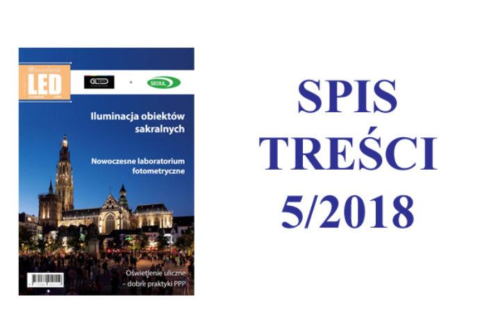 SPIS TREŚCI 5/2018