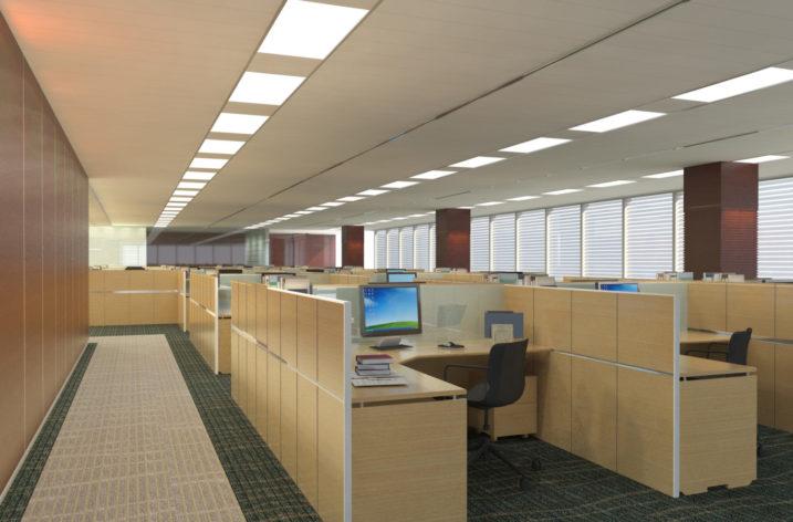 Efektywne oświetlenie w biurze