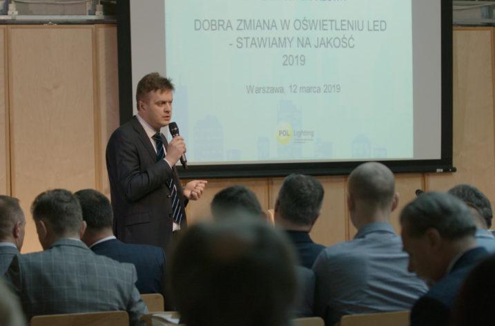 """Konferencja """"Dobra zmiana w oświetleniu LED – stawiamy na jakość 2019"""". Relacja"""