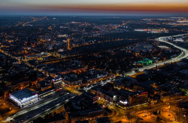"""Projekt """"Eko-światło"""" w Gliwicach"""