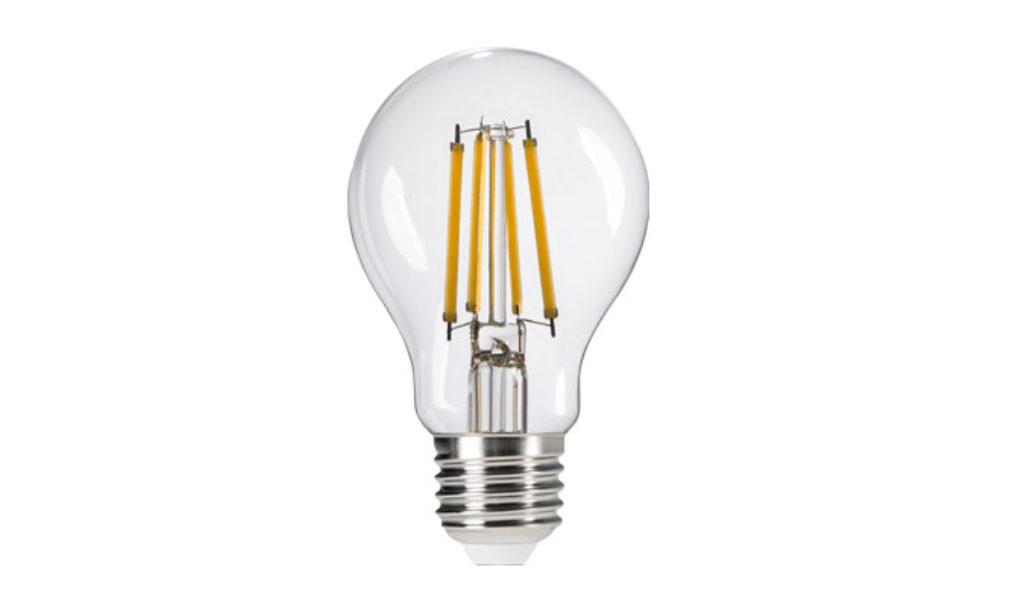 Lampa LED o tradycyjnym wyglądzie