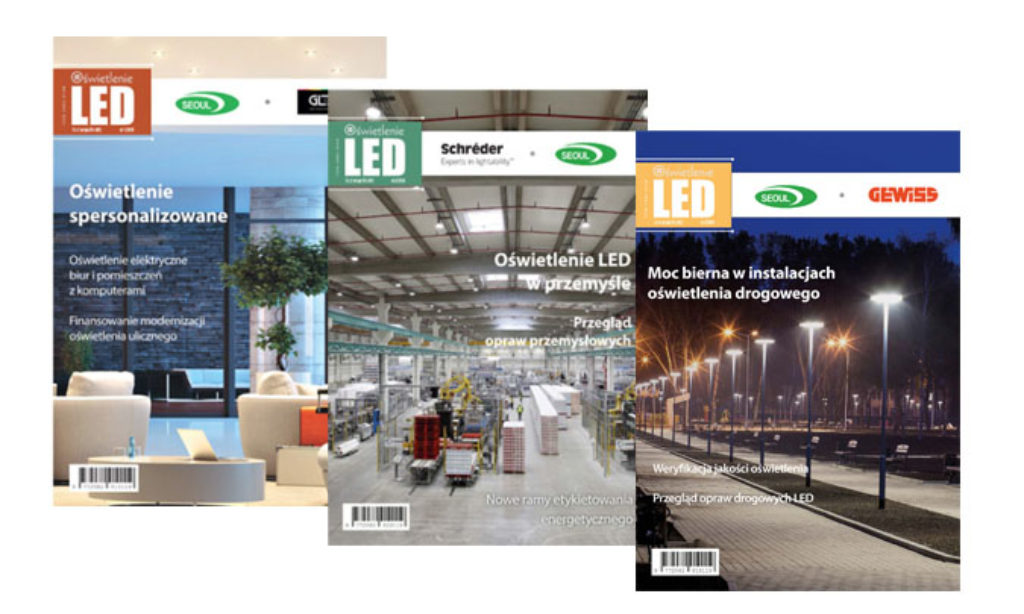 Oświetlenie LED na targach ENERGETAB 2019
