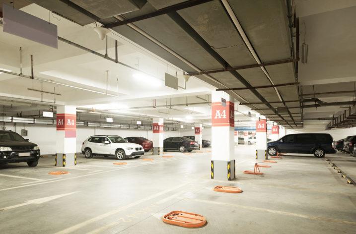 Parking w dobrym świetle