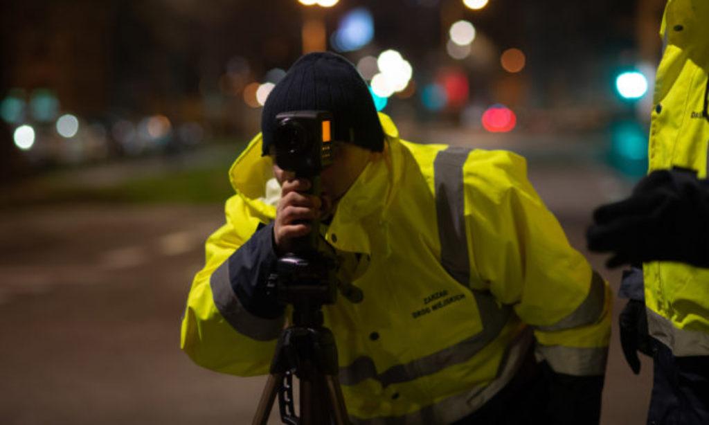 Kontrola oświetlenia na warszawskich ulicach