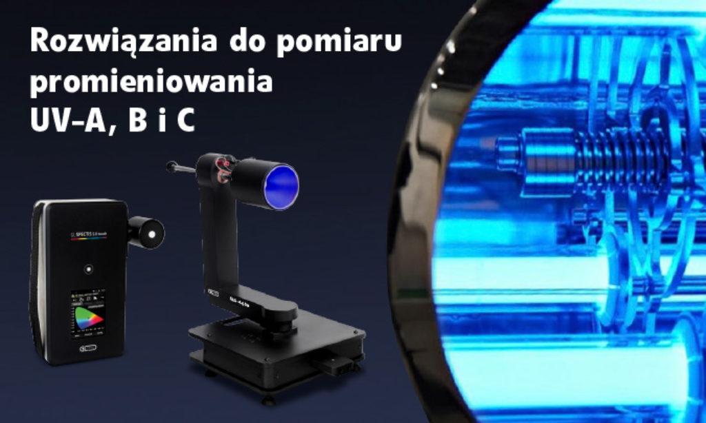 Systemy do pomiarów promieniowania UV w lampach do dezynfekcji