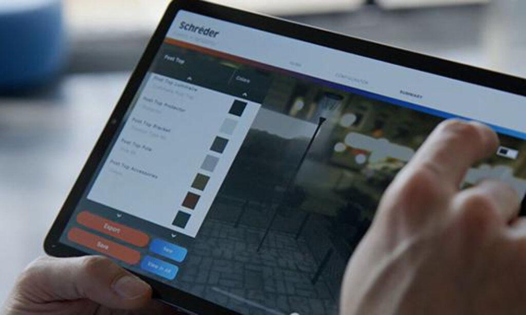 Aplikacje umożliwiające konfigurację i wizualizację rozwiązań oświetleniowych