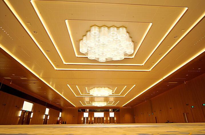 Oświetlenia wewnętrzne w Shenzhen World