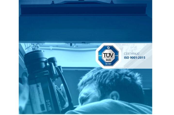 Certyfikat ISO 9001 dla polskiego producenta oświetlenia