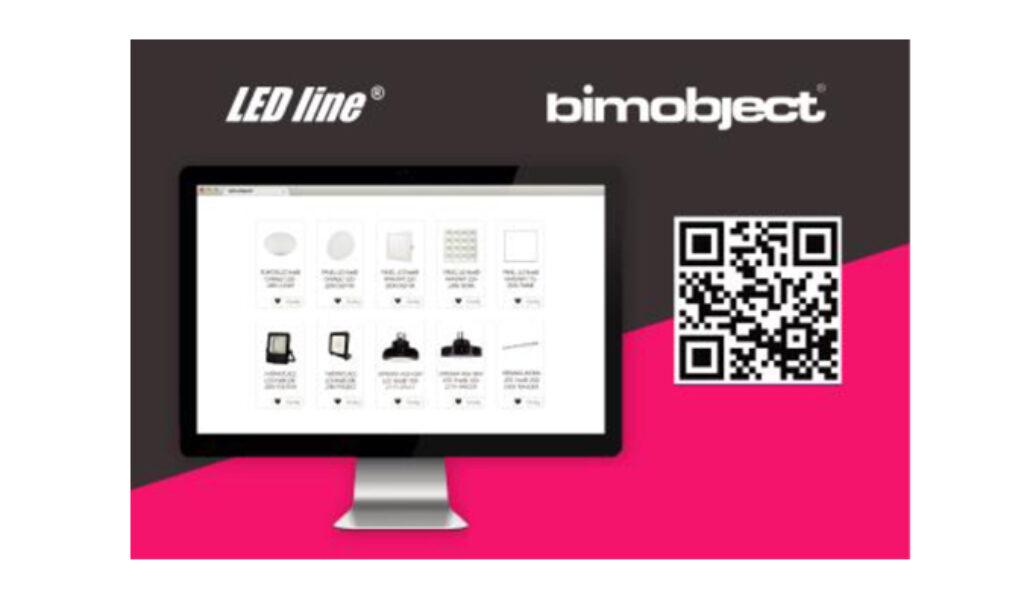 Modele 3D produktów LED line® w bazie BIM object