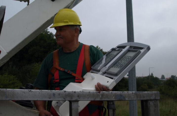 Wymiana lamp sodowych na ledowe