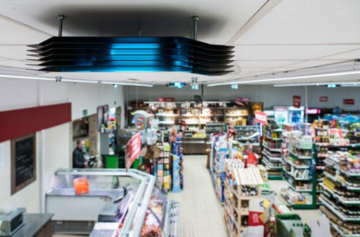 """Bezpieczniejsze zakupy w sklepach """"Społem"""" dzięki dezynfekcji Philips UV-C"""